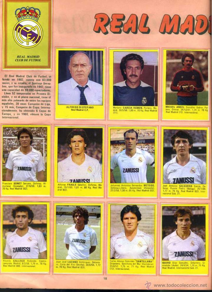 Coleccionismo deportivo: SUPER FUTBOL 84 - Coleccion de Cromos de Futbol del año 1984 con Viejas Figuras, Fichajes y Otros - Foto 3 - 50711957