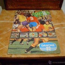 Coleccionismo deportivo: ALBUM- DANONE- MUNDIAL 82, INCOMPLETO. Lote 50720437