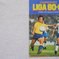 Coleccionismo deportivo: ALBUM ESTE 1980-81 VACIO NUNCA HA TENIDO CROMOS ORIGINAL CON 185 CROMOS NUNCA PEGADOS. Lote 50760033