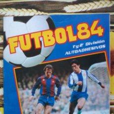 Coleccionismo deportivo: ALBUM INCOMPLETO COLECCION FUTBOL 84 1ª Y 2ª DIVISION EDITORIAL PANINI.INCLUYE CROMO MARADONA.... Lote 50874244