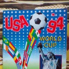 Colecionismo desportivo: ALBUM INCOMPLETO MUNDIAL USA 94 EDITORIAL PANINI (LEER DESCRIPCION). Lote 50882350