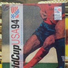 Coleccionismo deportivo: ALBUM INCOMPLETO MUNDIAL USA 1994 WORL CUP 94 EDITORIAL UPPER DECK. Lote 50934650