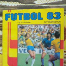 Coleccionismo deportivo: ALBUM INCOMPLETO FUTBOL 83 LIGA PRIMERA Y SEGUNDA DIVISION 1983 EDITORIAL PANINI . Lote 50935397