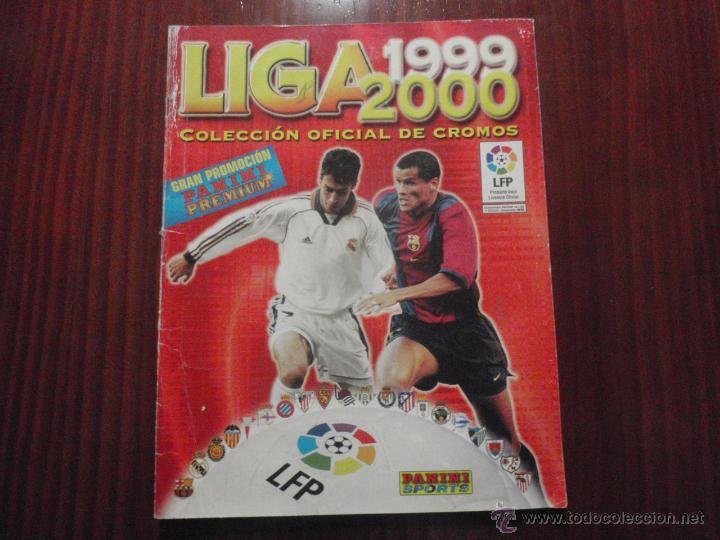 ALBUM DE CROMOS DE FÚTBOL LIGA 1999-2000 DE PANINI. VACÍO (Coleccionismo Deportivo - Álbumes y Cromos de Deportes - Álbumes de Fútbol Incompletos)