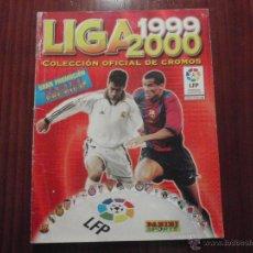 Coleccionismo deportivo: ALBUM DE CROMOS DE FÚTBOL LIGA 1999-2000 DE PANINI. VACÍO. Lote 50950851