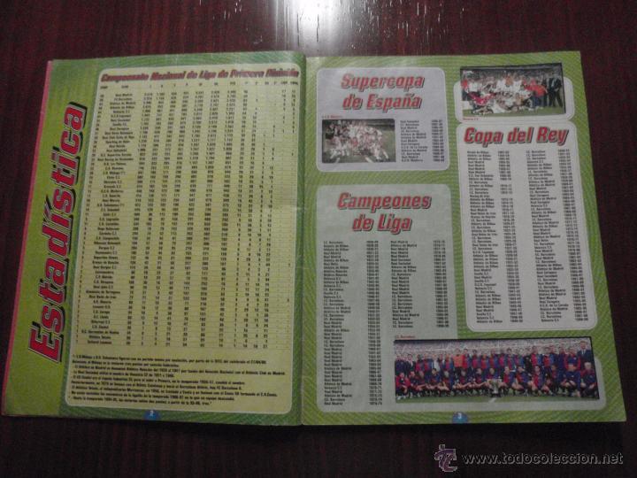 Coleccionismo deportivo: ALBUM de cromos de fútbol LIGA 1999-2000 de PANINI. Vacío - Foto 3 - 50950851