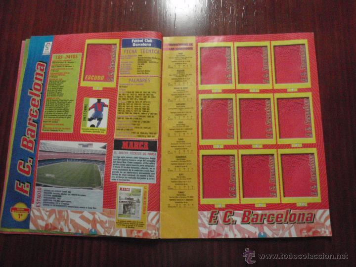 Coleccionismo deportivo: ALBUM de cromos de fútbol LIGA 1999-2000 de PANINI. Vacío - Foto 4 - 50950851