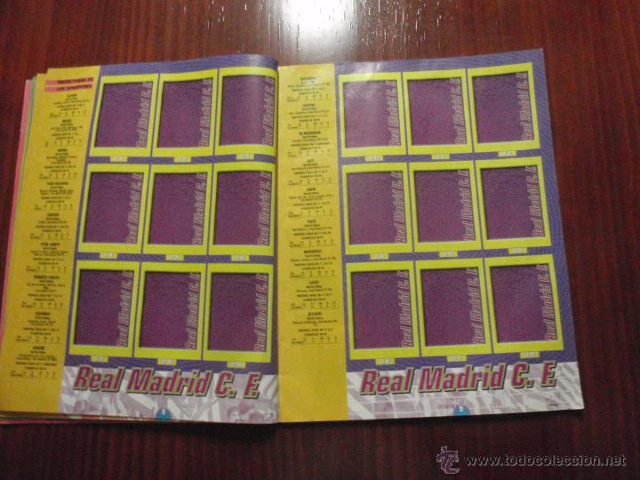 Coleccionismo deportivo: ALBUM de cromos de fútbol LIGA 1999-2000 de PANINI. Vacío - Foto 5 - 50950851