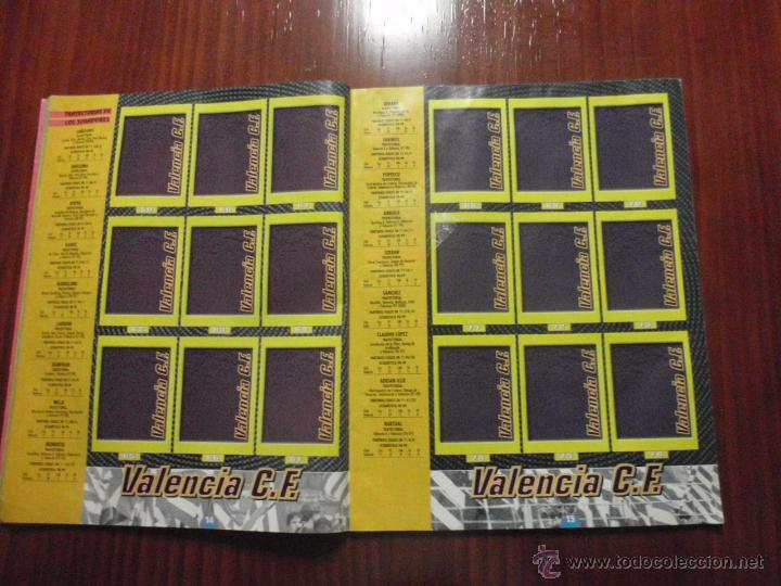 Coleccionismo deportivo: ALBUM de cromos de fútbol LIGA 1999-2000 de PANINI. Vacío - Foto 6 - 50950851