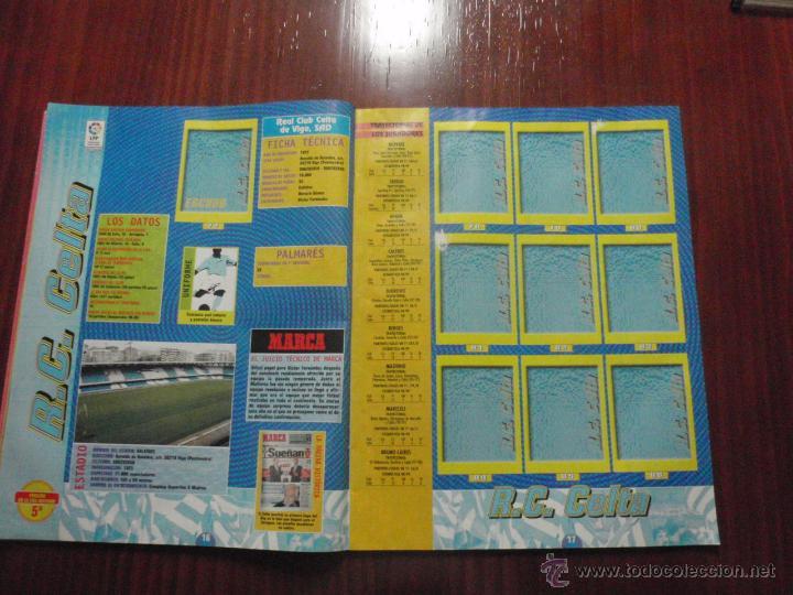 Coleccionismo deportivo: ALBUM de cromos de fútbol LIGA 1999-2000 de PANINI. Vacío - Foto 7 - 50950851