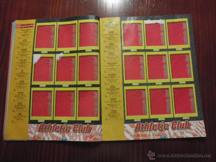 Coleccionismo deportivo: ALBUM de cromos de fútbol LIGA 1999-2000 de PANINI. Vacío - Foto 8 - 50950851