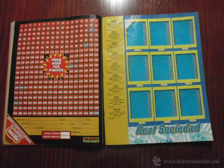 Coleccionismo deportivo: ALBUM de cromos de fútbol LIGA 1999-2000 de PANINI. Vacío - Foto 9 - 50950851