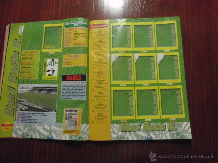 Coleccionismo deportivo: ALBUM de cromos de fútbol LIGA 1999-2000 de PANINI. Vacío - Foto 10 - 50950851