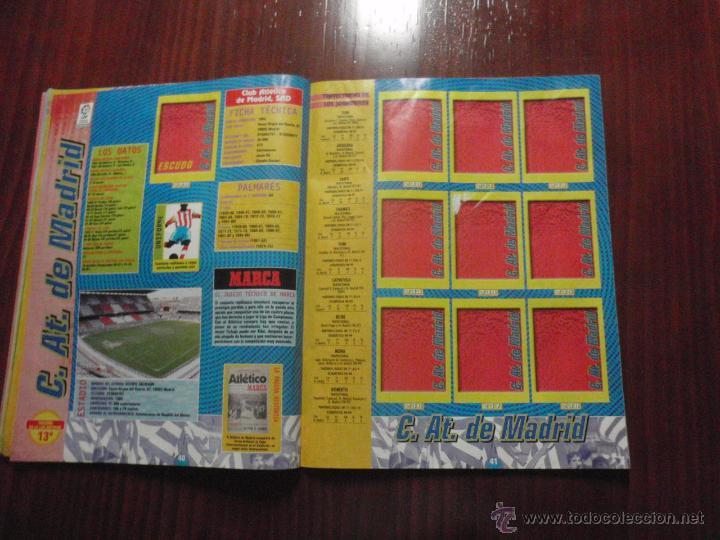 Coleccionismo deportivo: ALBUM de cromos de fútbol LIGA 1999-2000 de PANINI. Vacío - Foto 11 - 50950851