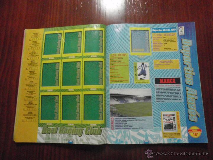 Coleccionismo deportivo: ALBUM de cromos de fútbol LIGA 1999-2000 de PANINI. Vacío - Foto 13 - 50950851