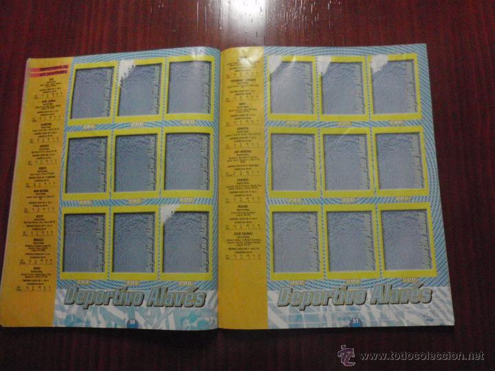 Coleccionismo deportivo: ALBUM de cromos de fútbol LIGA 1999-2000 de PANINI. Vacío - Foto 14 - 50950851