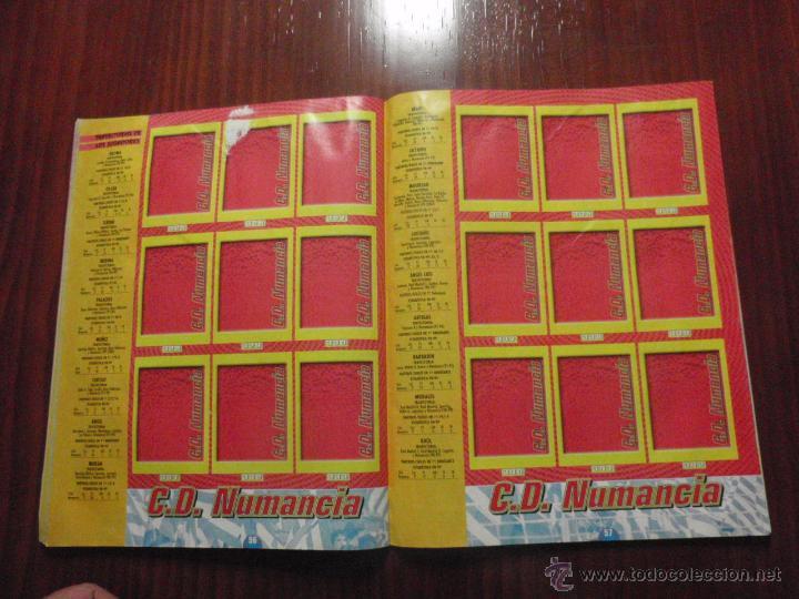 Coleccionismo deportivo: ALBUM de cromos de fútbol LIGA 1999-2000 de PANINI. Vacío - Foto 15 - 50950851