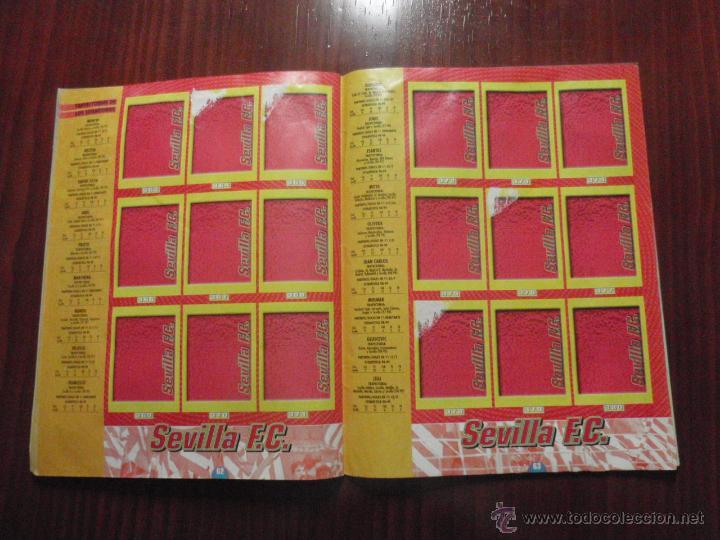 Coleccionismo deportivo: ALBUM de cromos de fútbol LIGA 1999-2000 de PANINI. Vacío - Foto 16 - 50950851