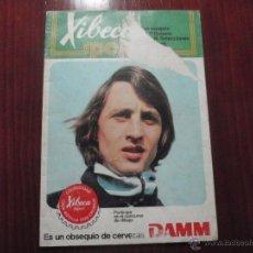 Coleccionismo deportivo: ALBUM DE CROMOS DE FÚTBOL XIBECA SPORT - CERVEZAS DAMM 1974. Lote 50965374