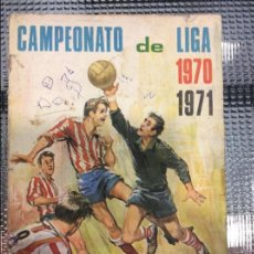 Coleccionismo deportivo: CAMPEONATO DE LIGA 1970 1971. Lote 50998613