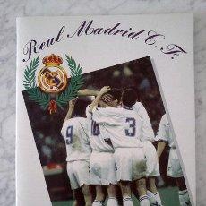Coleccionismo deportivo: ALBUM DE CROMOS - REAL MADRID C.F. - TEMPORADA 1994-1995 - MAGIC BOX INT. (INCOMPLETO). Lote 37310647