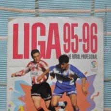 Coleccionismo deportivo: ALBUM LIGA DE FUTBOL PROFESIONAL TEMPORADA 95-96 PANINI . Lote 51030866
