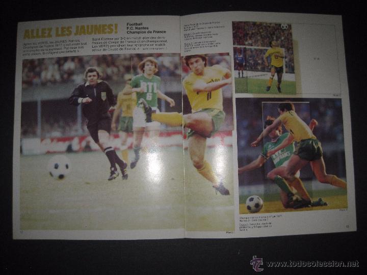 Coleccionismo deportivo: LES CHAMPIONS VERTS ET JAUNES 1977 - INCOMPLETO - VER FOTOS - (ALB-212) - Foto 6 - 51158018