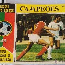 Coleccionismo deportivo: ALBU DE CROMOS CAMPEONES 79 PORTUGUES . Lote 51245993