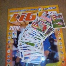 Coleccionismo deportivo: ALBUM CROMO LIGA ESTE 2010 2011 10 11 CASI COMPLETO MUY BUEN ESTADO Y CON 92 CROMOS NUEVOS SIN PEGAR. Lote 51364667