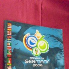 Coleccionismo deportivo: ALBUM DE CROMOS. FIFA WORLD CUP. GERMANY 2006. PANINI. INCOMPLETO. CON 433 CROMOS.. Lote 51373619