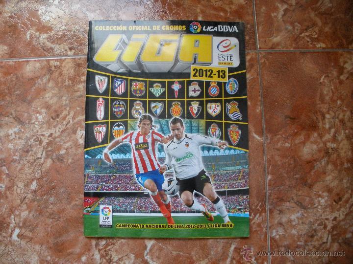 ALBUM LIGA ESTE 12 - 13 - FUTBOL - INCOMPLETO (Coleccionismo Deportivo - Álbumes y Cromos de Deportes - Álbumes de Fútbol Incompletos)