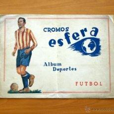 Coleccionismo deportivo: ALBUM CROMOS ESFERA - EDITORIAL AMELLER 1942. Lote 29022757