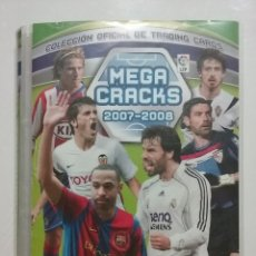 Coleccionismo deportivo: MEGA CRACKS 2007-2008 - COLECCION OFICIAL DE TRADING CARDS - INCOMPLETO 481 CROMOS - PANINI - LFP. Lote 51481613
