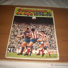 Coleccionismo deportivo: ALBUM DE LA LIGA 1974-75 DE FHER . Lote 51591235