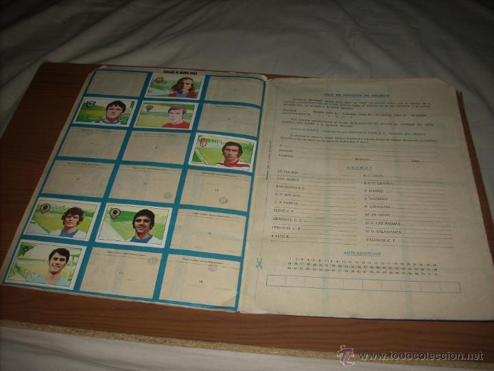 Coleccionismo deportivo: ALBUM DE LA LIGA 1974-75 DE FHER - Foto 3 - 51591235