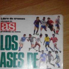 Coleccionismo deportivo: AS -LIBRO DE CROMOS - LOS ASES DE LA LIGA 87-88. Lote 51649872