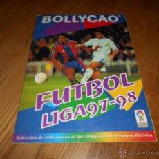 Coleccionismo deportivo: ALBUM BOLLICAO FUTBOL LIGA 97-98 CON 150 CROMOS BUEN ESTADO. Lote 51669575