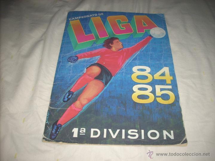 ALBUM DE LA LIGA 1984-85 DE CROMOS CANO CON 14 FICHAJES (Coleccionismo Deportivo - Álbumes y Cromos de Deportes - Álbumes de Fútbol Incompletos)