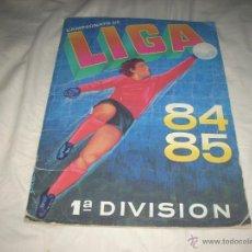 Coleccionismo deportivo: ALBUM DE LA LIGA 1984-85 DE CROMOS CANO CON 14 FICHAJES. Lote 51682187