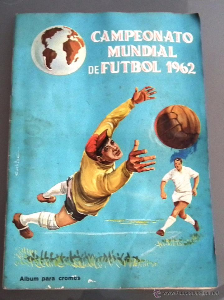 9ad0361770 álbum campeonato mundial de fútbol chile 62. di - Comprar Álbumes de ...