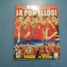 Coleccionismo deportivo: ALBUM INCOMPLETO DE:A POR ELLOS,SELECCIÓN ESPAÑOLA,AÑO 2009,DE PANINI. Lote 53360826