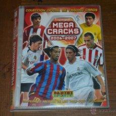 Coleccionismo deportivo: ÁLBUM INCOMPLETO MEGA CRACKS 2006 2007 CON MAS DE 200 FICHAS . Lote 51796294