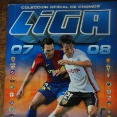 Coleccionismo deportivo: LIGA 2007-2008-08 · CONTIENE 196 CROMOS - COLECCIONES ESTE & PANINI. Lote 51892798