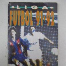 Coleccionismo deportivo: ÁLBUM DE CROMOS - LIGA FÚTBOL 91-92 - BIMBO.. Lote 51959835