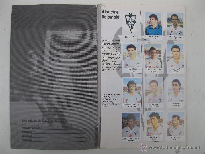Coleccionismo deportivo: ÁLBUM DE CROMOS - LIGA FÚTBOL 91-92 - BIMBO. - Foto 2 - 51959835