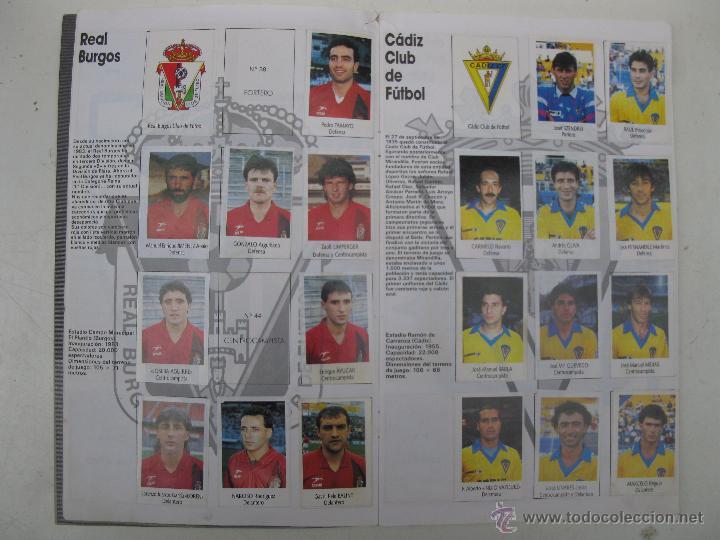Coleccionismo deportivo: ÁLBUM DE CROMOS - LIGA FÚTBOL 91-92 - BIMBO. - Foto 4 - 51959835