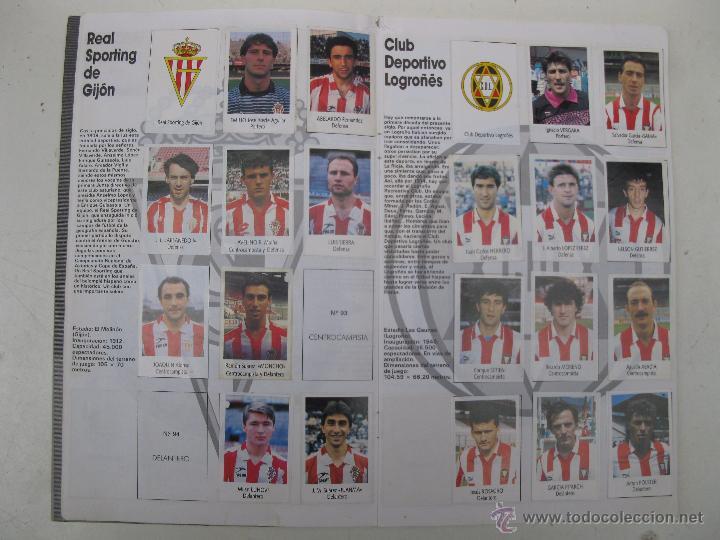 Coleccionismo deportivo: ÁLBUM DE CROMOS - LIGA FÚTBOL 91-92 - BIMBO. - Foto 6 - 51959835