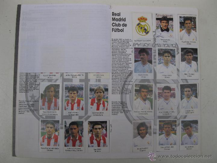 Coleccionismo deportivo: ÁLBUM DE CROMOS - LIGA FÚTBOL 91-92 - BIMBO. - Foto 8 - 51959835