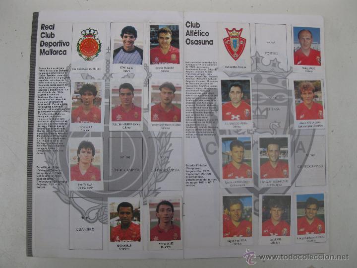 Coleccionismo deportivo: ÁLBUM DE CROMOS - LIGA FÚTBOL 91-92 - BIMBO. - Foto 9 - 51959835