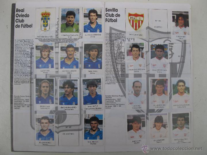 Coleccionismo deportivo: ÁLBUM DE CROMOS - LIGA FÚTBOL 91-92 - BIMBO. - Foto 10 - 51959835